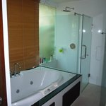  Large well appointed bathroom with wc, shower, spa bath