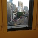  View of Sydney Harbour Bridge (approach road) from room