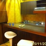  The Kitchenette in the room