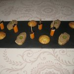  Amuse bouches at the start of a memorable meal