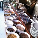  Breakfast buffet at Ates Pension