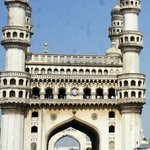 The lovely Charminar, shot from a moving taxi
