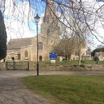 Church in Bampton used in Downton Abbey