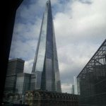 View of The Shard from our room