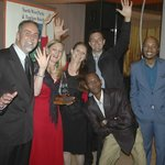Tourism Awards 2012 with Deon and Laurette Hanekom with friends of Stirling Manor