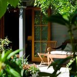 Wonderful private garden of Premier Room