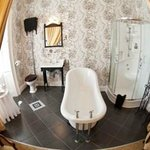 A guest bathroom