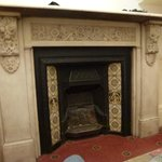 Fireplace in Room 7