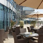 Patio at Lemon Tree: for a cappucino or pasta & pizzas