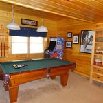 Pool table and game console