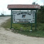  The entrance to the Belize Zoo