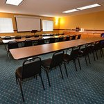  Meeting room with classroom-style set up