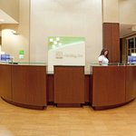 The Welcome Desk at our New Eco-Friendly  Hotel