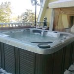 Jaccuzzi on the VIP terrace