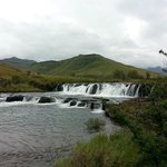The rapid falls at the Lesotho borderpost about 2min drive