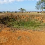 Plain of Jars bomb crater