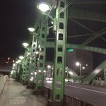  on da way to Mystay Asakusa from Metro sta.,Bridge over Sumida River