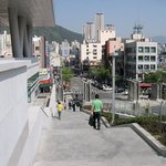 Street of the Pusan National University