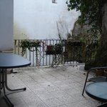 Small private Patio for room 6