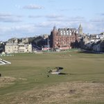 the first and eighteenth at st andrews