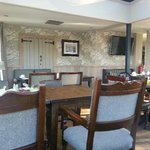 The dining room and conservatory, Boot Inn