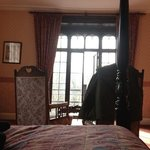  view from 4 poster in Rydal room