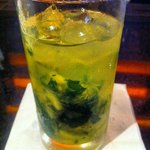 Try a pineapple mojito at the bar with Panamanian Rum. Yummy.