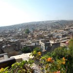  View of Fes from the terrace
