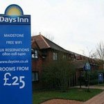  Welcome to the Days Inn Maidstone