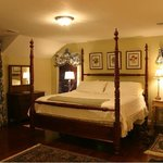  The Bridal Veil Falls room at Monteagle Inn &amp; Retreat Center