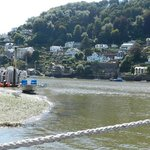 the kingswear/dartmouth ferry crossing