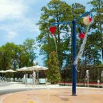 Poolside Splashpad