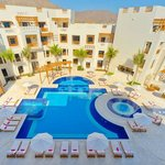Oman Sifawy Pool Birdeye View