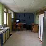  Common kitchen and tv