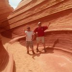  &quot;THE WAVE&quot;  near parry lodge in Kanab