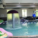 6000 sq ft SPLASH PAD, Indoor Water Recreation Area
