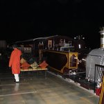 Steam at Rambagh Palace