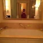 Soaking tub in our room