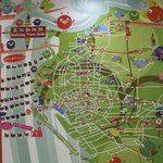  Map of Kaohsiung in the lobby