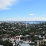  Balcony view over Woollahra of Sydney skyline
