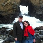 Rita and Jim at Pfeiffer Beach March