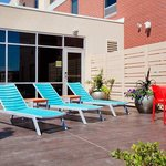  Outdoor Tanning Deck with Chairs