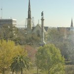 View of Marion Square from our room