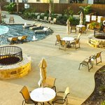 Poolside Courtyard