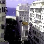 View from Hotel's room (Copacabana Palace at the top right of the photo)
