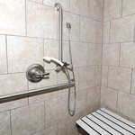  King Accessible Standing Shower