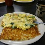  Vegetable Scramble with Hash Browns