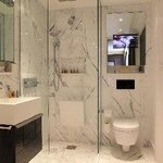 Rainfall Shower bathroom's with Occitane amenities