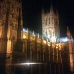 Floodlit Cathedral