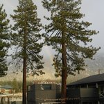 View across to Heavenly, with rainbow!